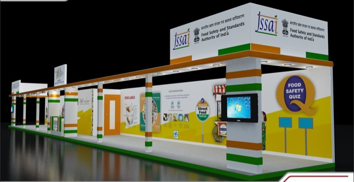 Exhibition Stall Case Study : Exhibition stall design and fabrication designing agency