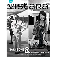 Vistara Airline Inflight Magazine Advertising