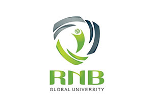 RNB Global University Logo Design