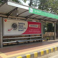 Billboards Outdoor Hoarding Advertising Bus Shelters