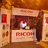 Ground Activation Advertising Richo Lodhi Road